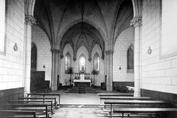 Pourtant, elle était mignonne cette chapelle ...
